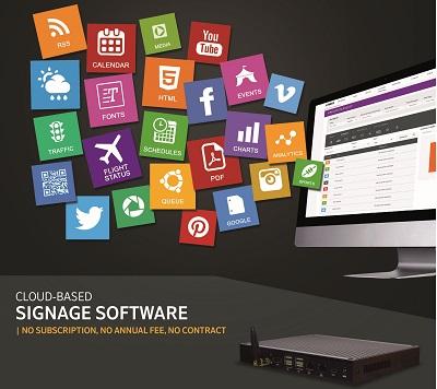 enterprise-grade digital signage system
