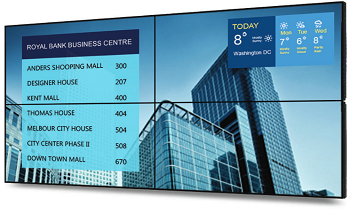 Digital building directories at Lordae Property Management